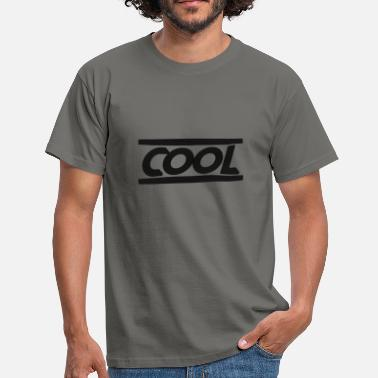 Swag Cool Up / Down Black - Men's T-Shirt