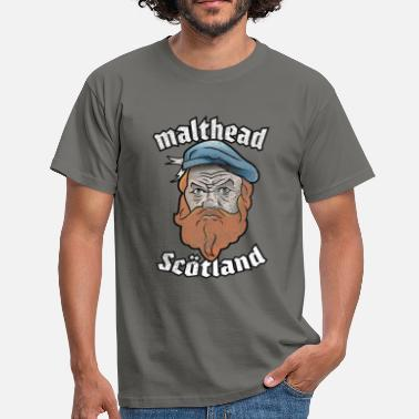 Whisky T-Shirt Malthead for Whisky Fans - Men's T-Shirt