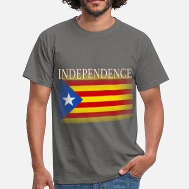 Catalan Independence Catalonia Catalan Independence - Men's T-Shirt