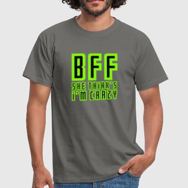 Best friends forever BFF - Men's T-Shirt
