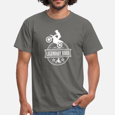 Motorcycle Rider Legendary Rider Motorbikes Motorcycle Riders - Men's T-Shirt