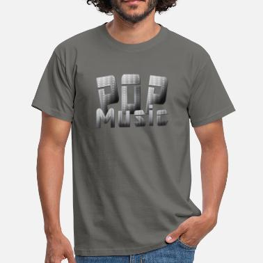 Pop Music Pop Music - Herre-T-shirt