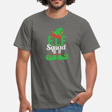 Elf Elf Squad - Christmas Elf Christmas Gift - Men's T-Shirt