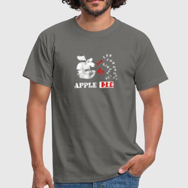 Afweging Apple Pi Pie Pun Math Nerd Algebra Pi-dag - Mannen T-shirt