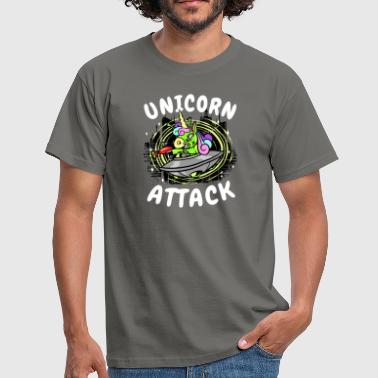 Attacke Unicorn Attack - Maglietta da uomo