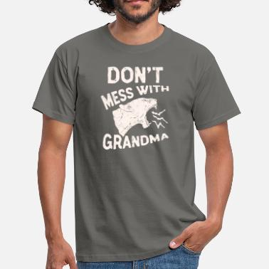 Lone Star Don't Mess With Grandma Texas Lone Star Mothers - Men's T-Shirt