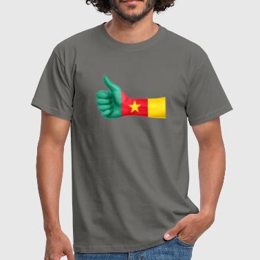 Cameroon Africa Cameroon Flag - Men's T-Shirt