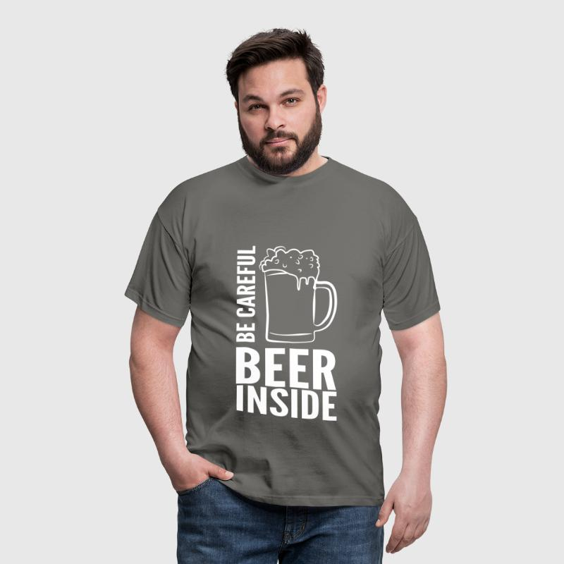 BEER INSIDE - T-shirt Homme