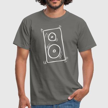 Hifi Box stereo hifi speaker speaker - Men's T-Shirt