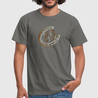 80s Symbol Horseshoe - 80 years - Men's T-Shirt