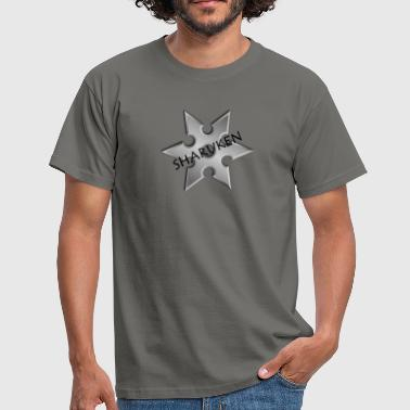 Ninja star - Men's T-Shirt