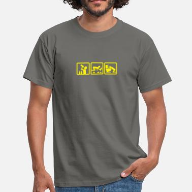 Illustration alcohol - l'alcool v2 - T-shirt Homme