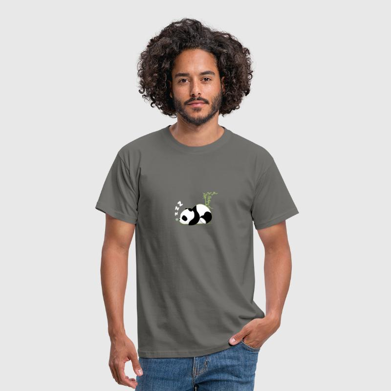 Sleeping panda - Men's T-Shirt