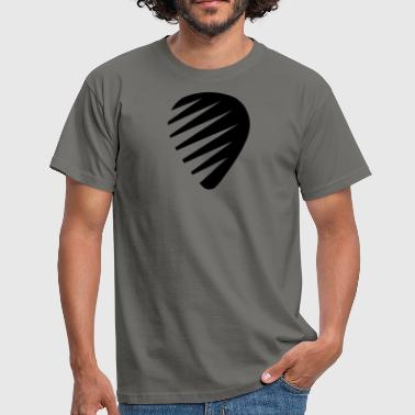 plectrum guitar pick - Men's T-Shirt