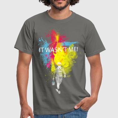 it wasn't me! - T-shirt Homme