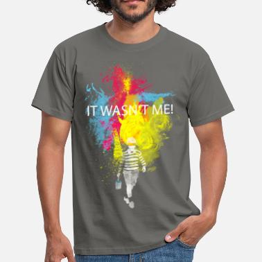 Graffiti it wasn't me! - T-shirt Homme
