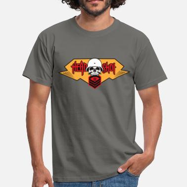 Shot In The Head Head shot - Men's T-Shirt