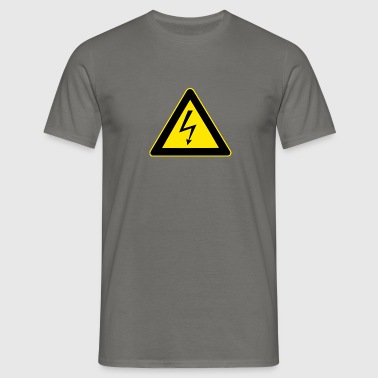 high voltage - Men's T-Shirt