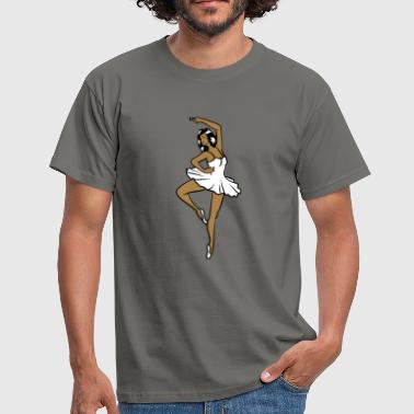 Ballerina ballet devotion - Men's T-Shirt