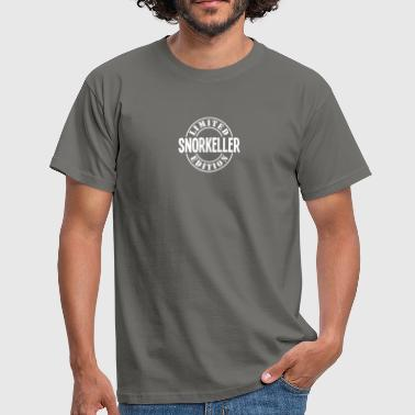 Snorkel snorkeller limited edition stamp copy - Men's T-Shirt