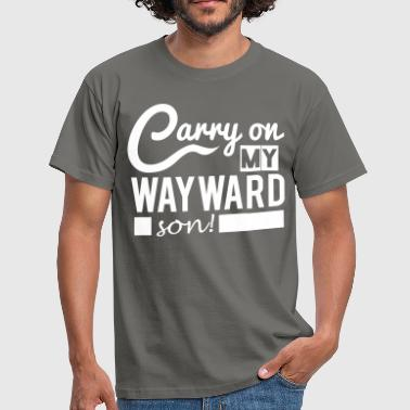 Supernatural: Carry On! - Männer T-Shirt