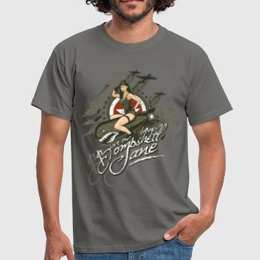 Vintage bombshell_jane - Men's T-Shirt