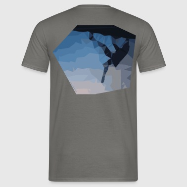 climber triangulatie - Mannen T-shirt