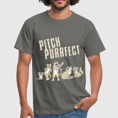 Pitch Purrfect - Men's T-Shirt