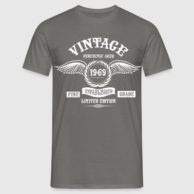 Vintage Perfectly Aged 1969 - Men's T-Shirt