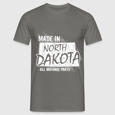 Made in North Dakota all original parts  - Men's T-Shirt