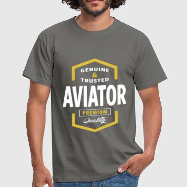 Aviator Logo Gift Ideas - Men's T-Shirt