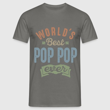 World's Best Pop Pop - Men's T-Shirt
