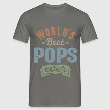 World's Best Pops - Men's T-Shirt