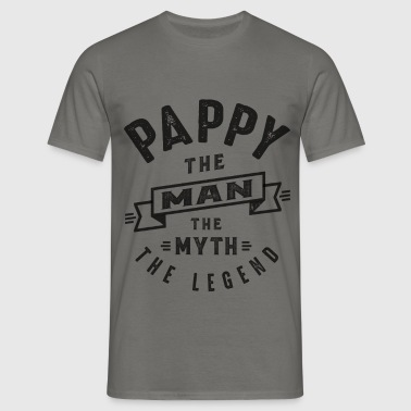 Pappy The Myth - Men's T-Shirt
