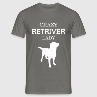 Retriever - Crazy Retriever Lady  - Men's T-Shirt