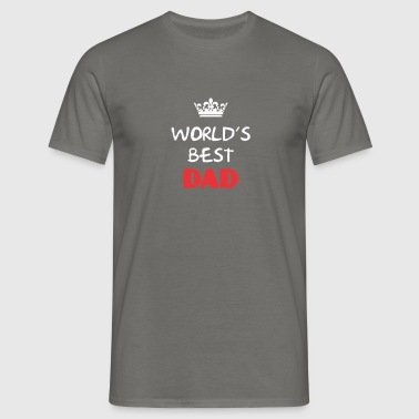 Dad - World's best Dad - Men's T-Shirt