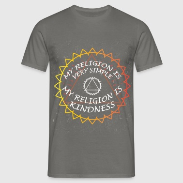 Yoga - My religion is very simple My religion is  - Men's T-Shirt