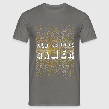 Video Games - Old school gamer - Men's T-Shirt
