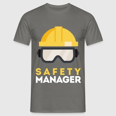 Safety Manager - Safety Manager - Men's T-Shirt