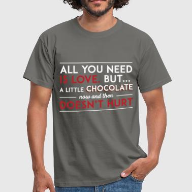 St. Valentine - All you need is love, but a little - Men's T-Shirt