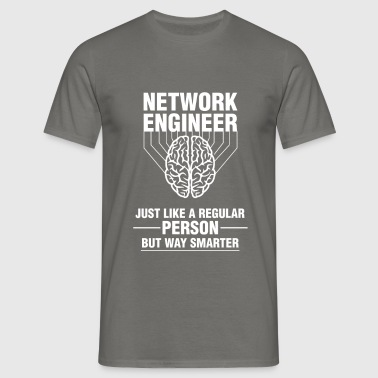 Network engineer - Network engineer just like a  - Men's T-Shirt