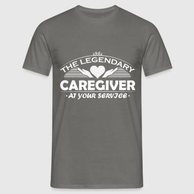 Caregiver - The legendary caregiver at your  - Men's T-Shirt