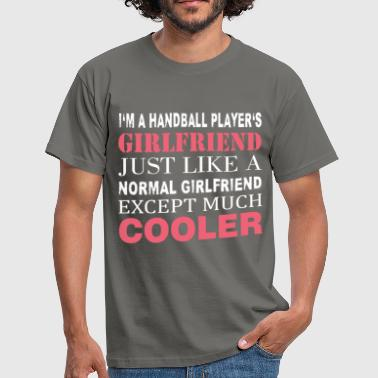 Handball Player's - I'm a handball player's  - Men's T-Shirt