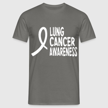 Lung Cancer - Lung cancer awareness - Men's T-Shirt