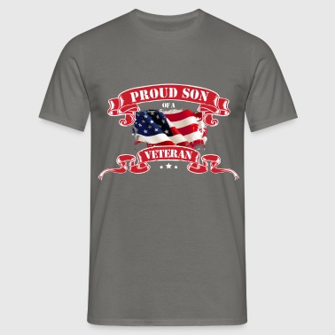 Son Of A Veteran - Proud son of a Veteran - Men's T-Shirt