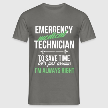 Emergency medical technician - Emergency medical  - Men's T-Shirt