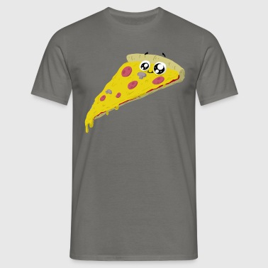 pizza - Men's T-Shirt
