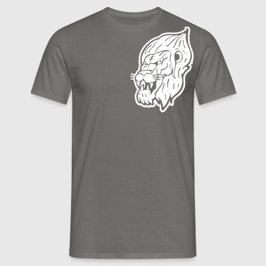 iron lion zion - Mannen T-shirt