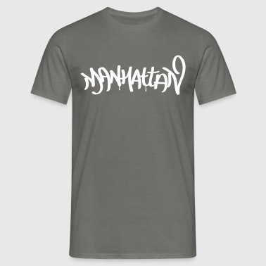 Manhattan - Mannen T-shirt