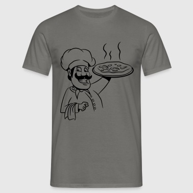 Cook cook pizza - Men's T-Shirt